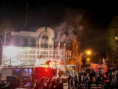 ایران میں سعودی سفارتخانے پر حملے کے تمام ملزمان بری