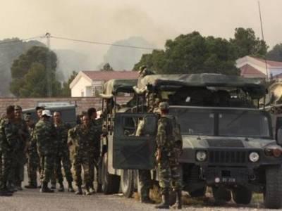 تیونس میں جنگجووں کا فوج اور پولیس پر حملہ:50سے زائد اہلکار ہلاک