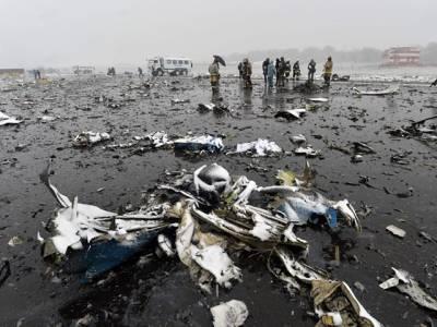 اماراتی طیارہ خراب موسم کے باعث ہی گرا: روسی تحقیق کار