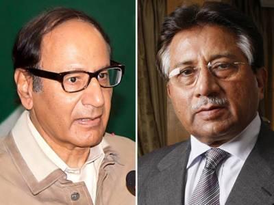 چوہدری شجاعت کا پرویز مشرف سے ٹیلی فونک رابطہ، کسی ڈیل کے تحت بیرون ملک نہیں آیا: سابق صدر