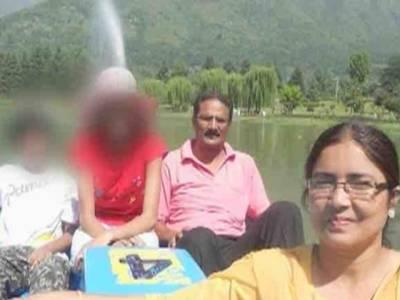 بھارتی حساس ادارے کے مسلمان مقتول افسرتنزیل احمد کی زخمی اہلیہ فرزانہ بھی انتقال کر گئیں