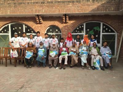 راشد لطیف میڈیکل کالج کے سٹوڈنٹس نے گڈ ڈیڈ ڈے کے حوالے سے لاوارث، نادار بزرگوں اور بچوں کے ساتھ بھرپور انداز میں منایا