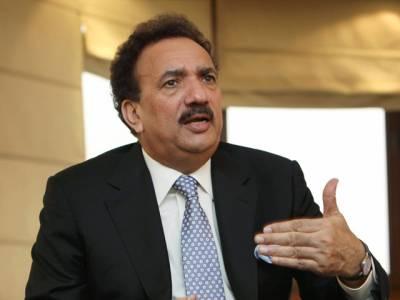 پیپلز پارٹی وزیراعظم نواز شریف کے استعفیٰ کے حق میں نہیں،بھارت پاکستان میں دہشت گردی اور تخریب کاری میں ملوث ہے : سینیٹر رحمان ملک