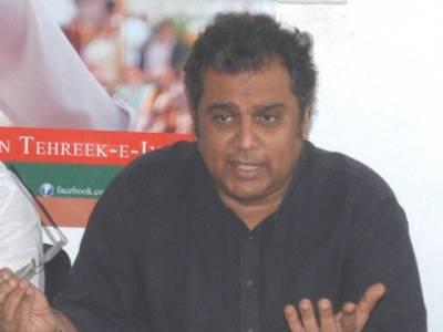 حفیظ الدین پارٹی سے نکالے جانے کے خوف سے چھوڑ کر چلے گئے :علی زیدی