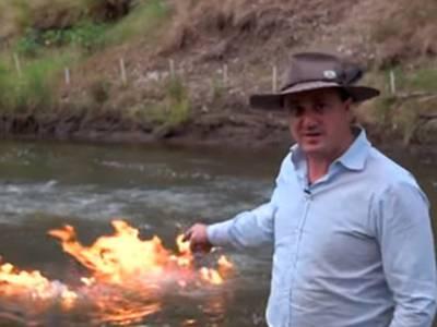 وہ آدمی جس نے دریا میں آگ لگادی، ایسا کیسے ہوسکتا ہے؟ حقیقت کسی کو بھی پریشان کردے