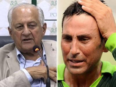 چیئرمین پی سی بی کا یونس خان کا رابطہ،بیان بازی سے دور رہنے کی ہدایت