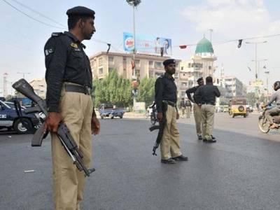 پولیس اہلکاروں کے قتل میں ملوث ملزمان کامقدمہ سینٹرل جیل منتقل کردیا گیا