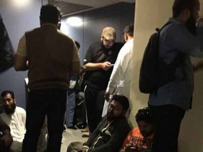 ترکی سے بے دخل 25پاکستانی بینظیر ایئر پورٹ پر پہنچ گئے