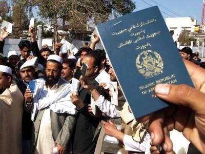 افغان مہاجرین کو ملازمتیں دینے پر پابندی عائد