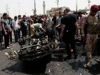عراق کے دارلحکومت بغداد کے نواح میں بم دھماکہ، 64افراد جاں بحق