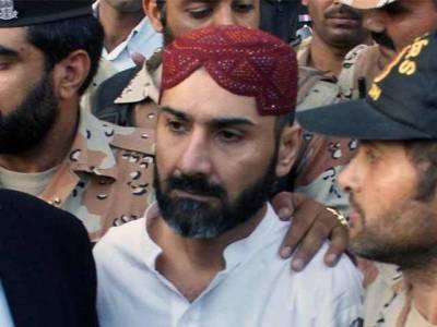 عزیر بلوچ14 روزہ جوڈیشل ریمانڈ پر جیل منتقل