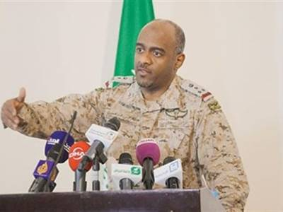 ہمیں علم ہے کہ یمنی معزول صدر علی عبداللہ صالح رات کو کہاں قیام کرتا ہے اور دن کو کدھر ہوتا ہے:اتحادی فوج کے ترجمان جنرل احمد حسن عسیری