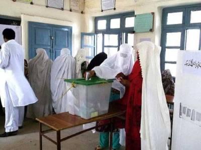 پی کے 8 پشاور میں ضمنی انتخاب کے لئے پولنگ، ضابطہ اخلاق کی کھلی خلاف ورزی