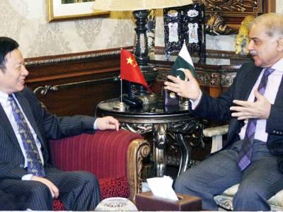 شہباز شریف سے چینی قونصل جنرل کی ملاقات ،و زیراعلیٰ نے منصوبوں کی اعلیٰ معیارکےساتھ تکمیل کاریکارڈبنایا:یوبورن