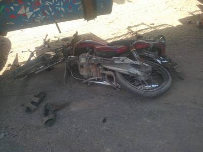 آزادی انٹر چینج پر کار اور موٹر سائیکل میں تصادم ، 22سالہ نوجوان جاں بحق : ایدھی ذرائع
