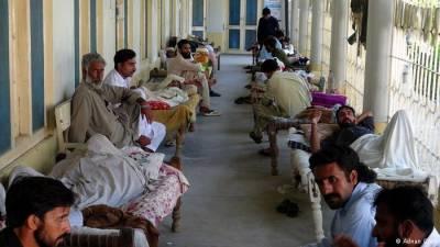گرمی بڑھتے ہیں ملتان کے شہری پیٹ کے امراض میں مبتلا ، 149مریض ہسپتال پہنچ گئے