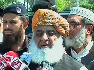 وزیراعظم ڈی آئی خان کے دورہ کے دوران سی پیک کے مغربی روٹ کا سنگ بنیاد رکھیں گے: مولانا فضل الرحمان