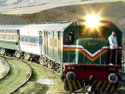 کراچی سے راولپنڈی جانیوالی ٹرین کی بوگی پٹڑی سے اتر گئی