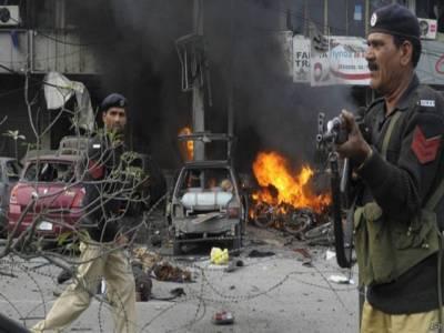 سکیورٹی فورسز سے مقابلے کے دوران ایک شخص نے خود کو دھماکے سے اڑالیا