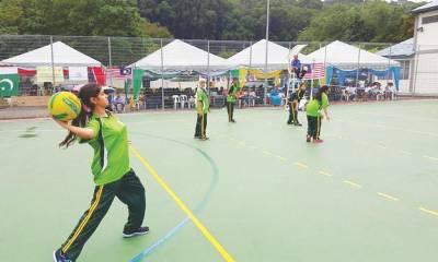 قومی ویمن تھرو بال چیمپئن شپ دسمبر میں کھیلی جائے گی