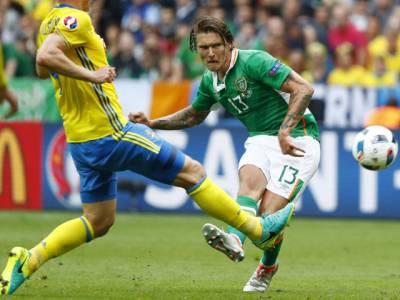 یورو کپ: آئرش کھلاڑی کا اون گول،سویڈن اور جمہوریہ آئر لینڈ کا میچ ایک ایک گول سے برابر