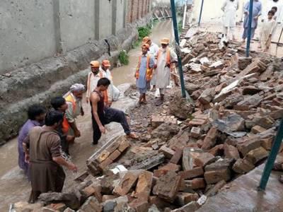 طوفانی بارشوں سے خیبر پختونخوا میں 11افراد ہلاک ، 70زخمی ہوئے : پی ڈی ایم اے