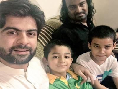 احمد شہزاد کی امجد صابری کے اہل خانہ سے تعزیت، بچوں کی خوشی کیلئے آتا جاتا رہوں گا: کرکٹر