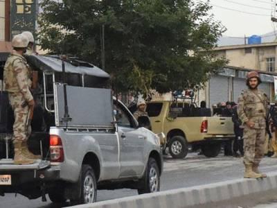 تربت: دشت میں ایف سی کی گاڑی کے قریب دھماکہ: چھ اہلکار زخمی
