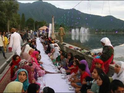 3000 افراد کا روزہ افطاری کا ریکارڈ