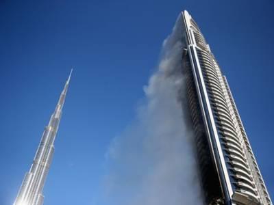 دبئی کے معروف ہوٹل میں آگ بھڑک اٹھی