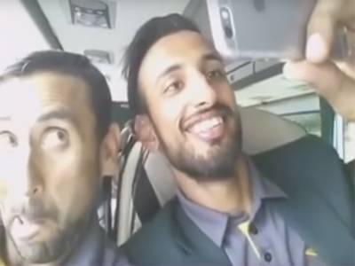 احمد شہزاد کا سیلفی جنون، یونس خان اور شان مسعود نے ایسی ویڈیو بنادی کہ دیکھنے والا ہنس ہنس کر لوٹ پوٹ ہوجائے