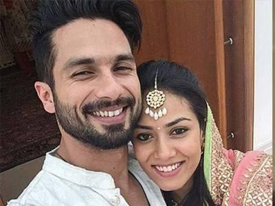 شاہد کپور اور ان کی اہلیہ میرا راجپوت نے شادی کی پہلی سالگرہ ہسپتال میں منفرد انداز میں منائی