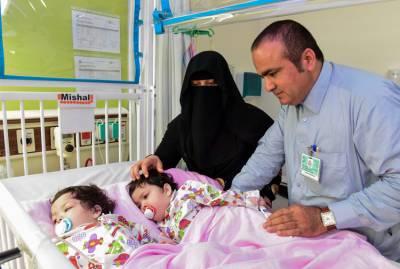 دو جڑی ہوئی بہنوں کی کامیاب آپریشن کے بعد سعودی عرب سے وطن واپسی 20جولائی کو متوقع