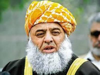 ٹی وی چینلز مقبوضہ وادی کی کوریج نہیں کرتے: فضل الرحمان کی تنقید