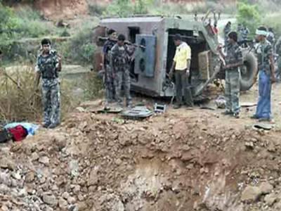 بھارتی ریاست بہار میں بارودی سرنگ کا دھماکہ , 8پولیس کمانڈوزہلاک