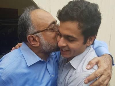 چیف جسٹس سندھ ہائیکورٹ کے بیٹے اویس علی شاہ کو بازیابی کے بعد گھر پہنچا دیا گیا