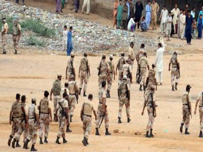 رینجرز کواختیارات میں توسیع نہ ملنے پر کراچی آپریشن رک گیا