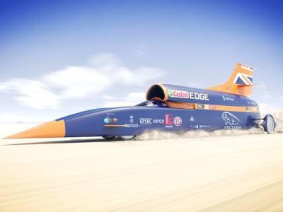 دنیا کی تیز ترین گاڑی جو 1600 کلومیٹر فی گھنٹہ کی رفتار سے سفر کرسکتی ہے