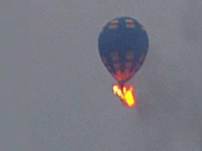 امریکہ: گرم ہوا کا غبارہ آگ لگنے سے گر گیا، 16افراد ہلاک