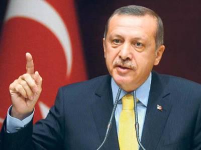 طیب اردغان کا صدر کی توہین کرنے کے الزام کے تحت درج تمام مقدمات ختم کرنے اور آرمی چیف کو صدر کے ماتحت لانے کا اعلان