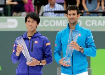 روجر کپ: فائنل میں عالمی نمبر ون جاکووچ نے جاپان کے ٹینس سٹار کی نیشیکوری کو پچھاڑ دیا