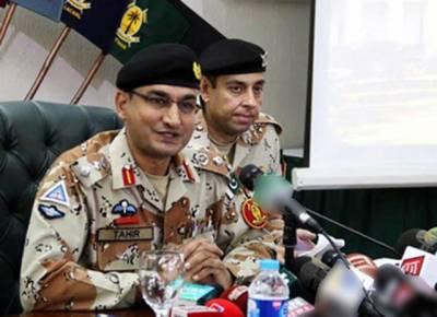 سندھ میں رینجرز کی کارروائیوں سے قتل کی وارداتوں میں 44فیصد کمی آئی :ترجمان رینجرز