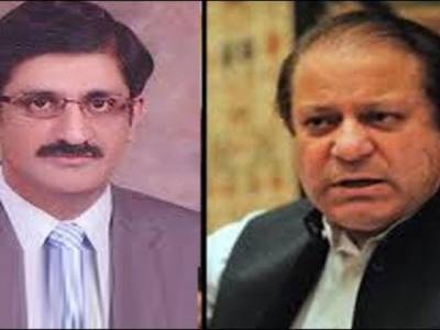 وزیر اعلیٰ سندھ مراد علی شاہ کی وزیر اعظم نواز شریف سے ملاقات،سندھ میں امن و امان اور رینجرز اختیارات پر تبادلہ خیال