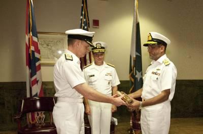 کثیر ملکی سمندری افواج کے اتحاد رائل نیوی کمبائنڈ ٹاسک فورس 150 کی کمانڈ پاکستان نے سنبھال لی