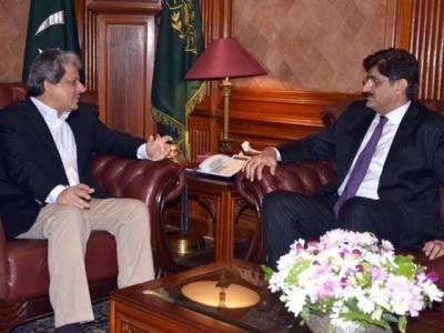 ڈاکٹر عشرت العباد سے وزیراعلیٰ سندھ کی ملاقات،صوبے میں امن امان کے لیے ٹارگٹڈ آپریشن جاری رکھنے پر اتفاق