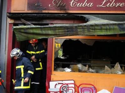 فرانس کی مشہور بار میں سالگرہ کیک کی موم بتیوں سے لگنے والی آگ نے 13 افراد کی جان لے لی ،6زخمی