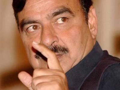 محمود اچکزئی را کا ایجنٹ اور نواز شریف کا خاص آدمی ہے:شیخ رشید