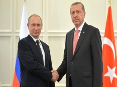 ترک صدرکی روسی ہم منصب سے ملاقات ،تعلقات میں تجدید کا عزم