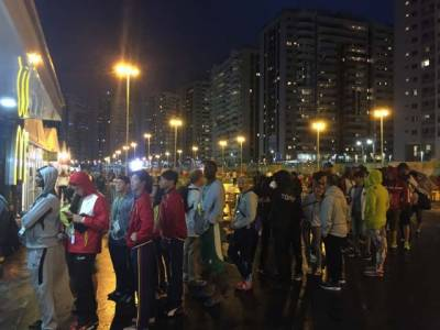 اولمپکس میں شامل کھلاڑیوں کے ساتھ انتظامیہ کا ایسا سلوک کہ کھلاڑی رونے لگے