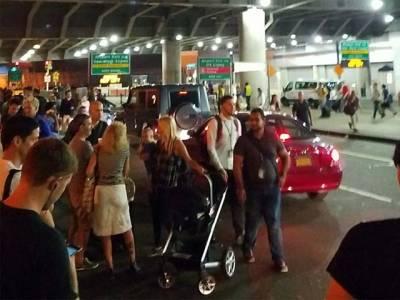 امریکہ کے جان ایف کینیڈی ایئرپورٹ پر فائرنگ کی اطلاعات